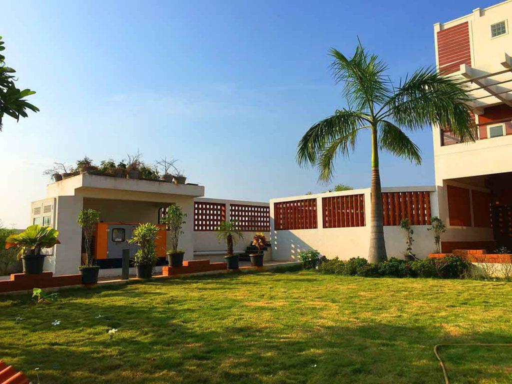 farm and beach houses