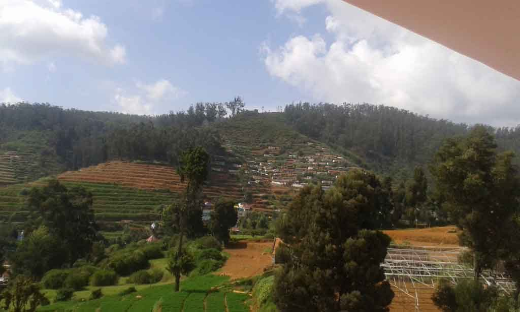 hill view villa for rent in ooty