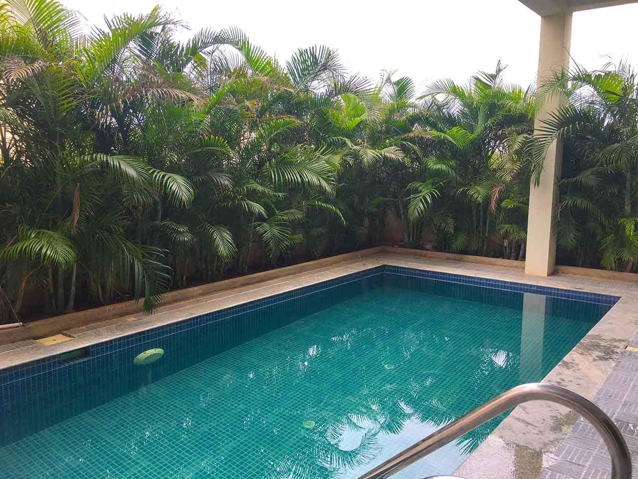 private beach villa ecr